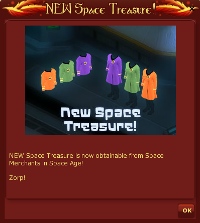 VFK new space treasure