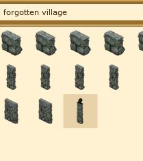 VFK Forgotten Village search