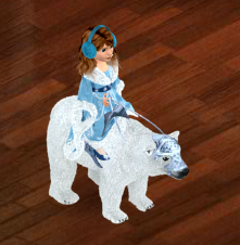 Rideable Polar Bear (North Pole Membership)