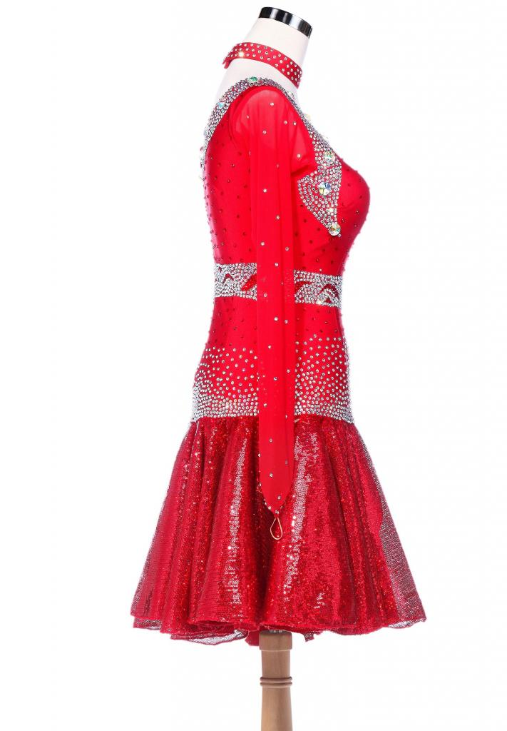 Fiery-Sparkle-Sequined-Hem-Asymmetrical-Latin-Dance-Dress-L5228-2b