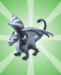 Dragon Buddy - Silver