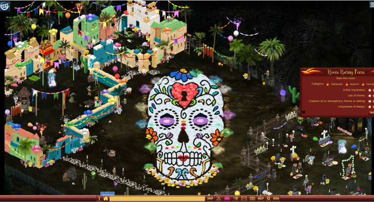 2019 HALLOWEEN BUILDING COMPETITION -- DAY OF THE DEAD