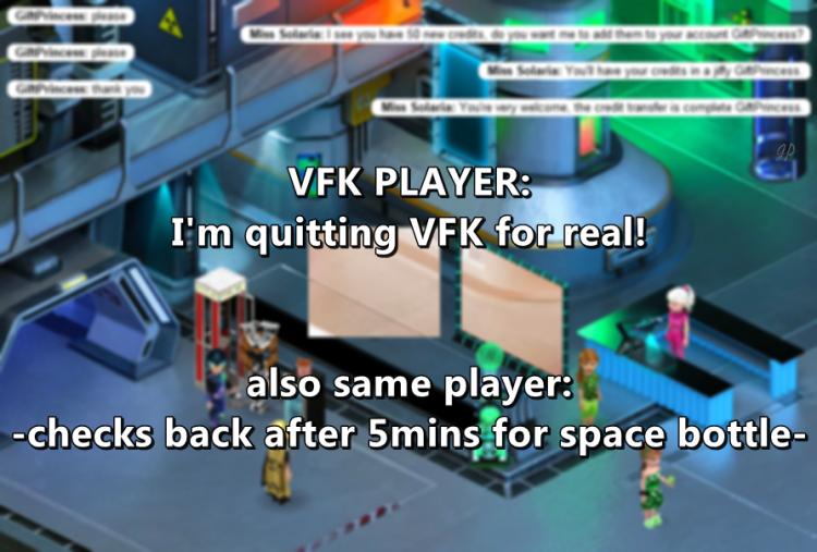 meme SPACE BOTTLE quit no quit