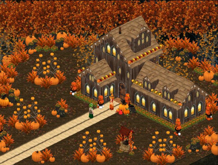 Autumn Pumpkin Cottage