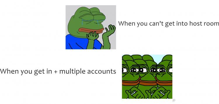 Pepe the Frog meme HOST