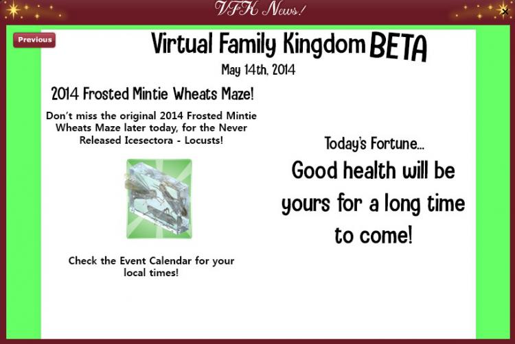 2019 2014 RETRO VFK COUNTDOWN - Newsletter 2