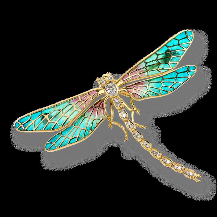 dragonfly brooch