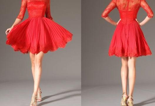 Best-Valentines-Day-Red-Dresses-For-Girls-Women-2014-4