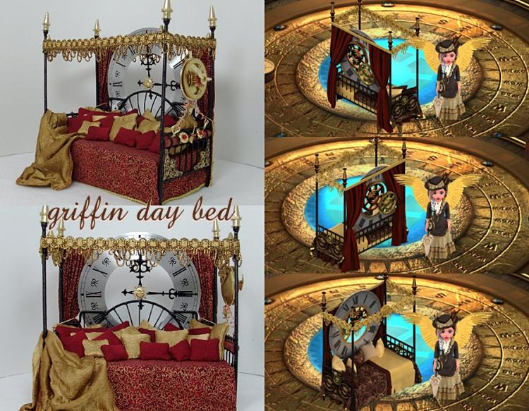 Griffin Day Bed Collage
