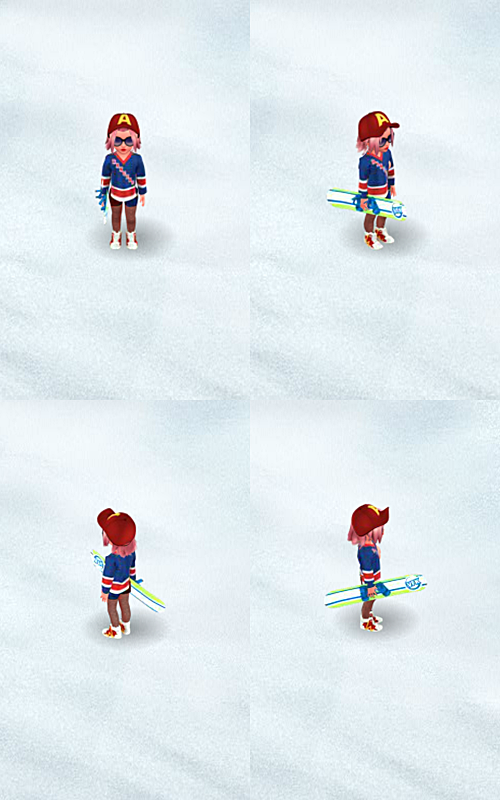 RANGERS TOP HOCKEY GIRL COLLAGE