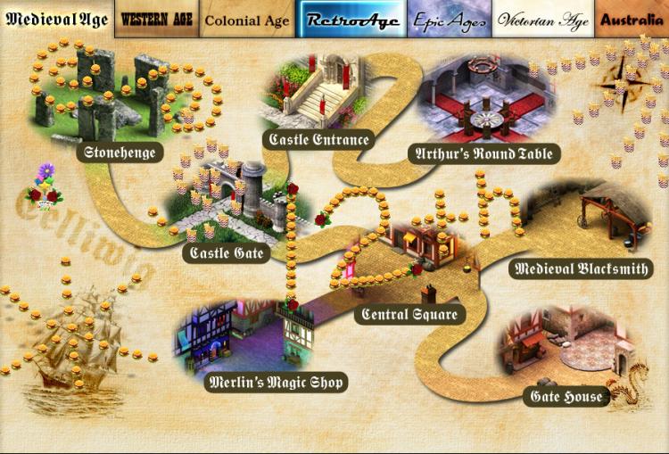 BURGER ART 2020 Medieval Map