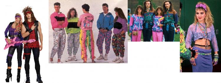 80s costumes