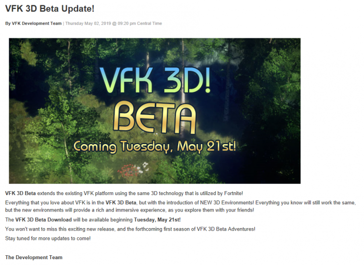 VFK 3D Beta 2