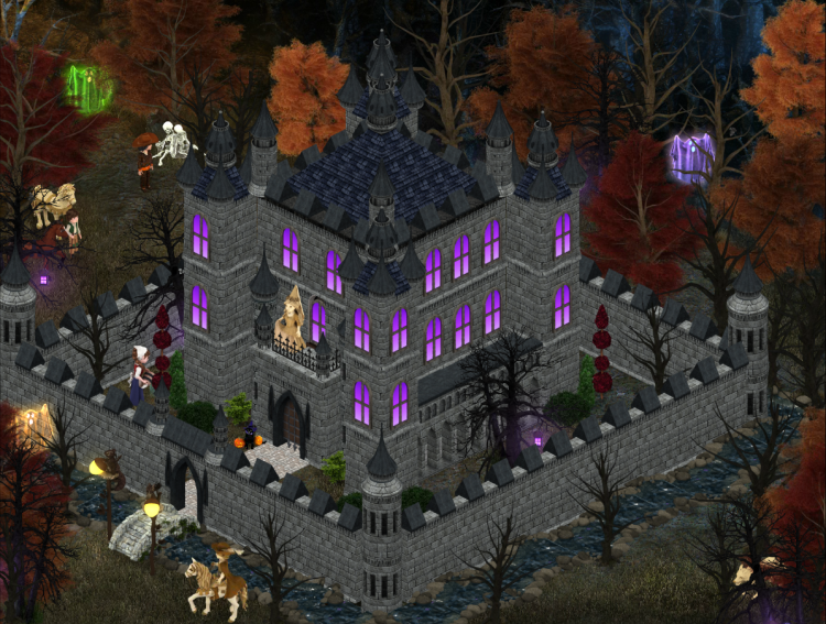 2019 Halloween Competition - LoveReading - Grey's Castle