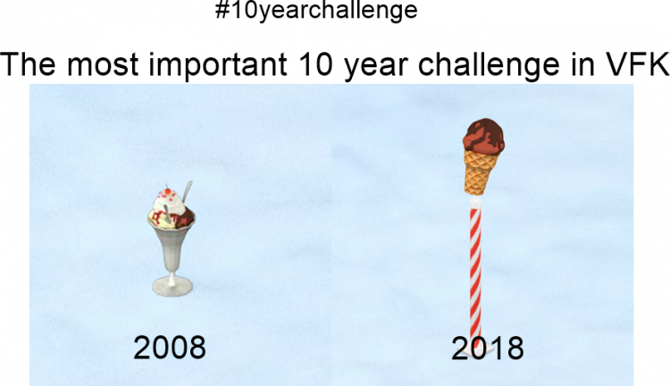10 year challenge meme ICE montage
