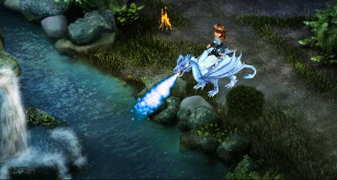 Silver Dragon Bundle 1 (White fire)