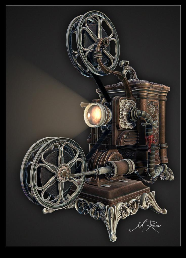 Suggest_STEAMPUNK_Projector 1
