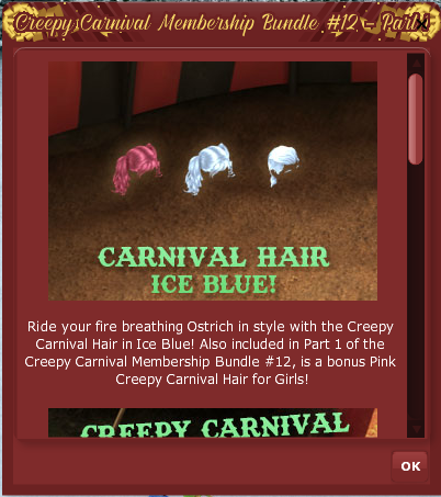 CREEPY CARNIVAL #12 PART 1 1