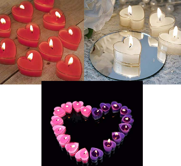 hearttealights