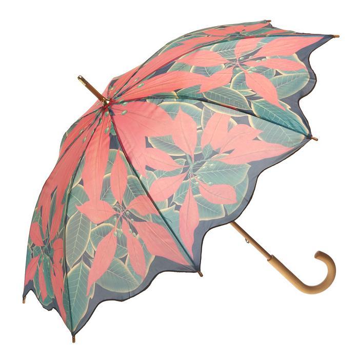 Artbrellas-Poinsetta-Umbrella