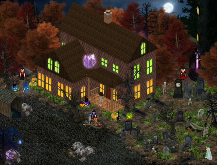 2019 Halloween Competition - Zinderella - House on Haunted Lake