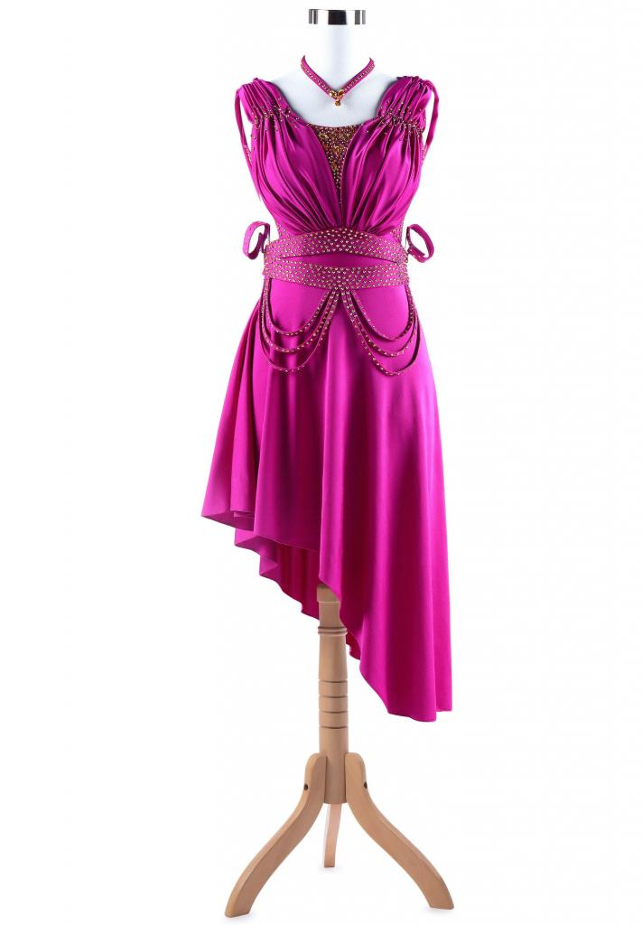Fierce-Ruching-Asymmetrical-Ruffle-Latin-Competition-Dress-L5270-b