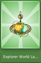 Explorer World Lamp - Antique2