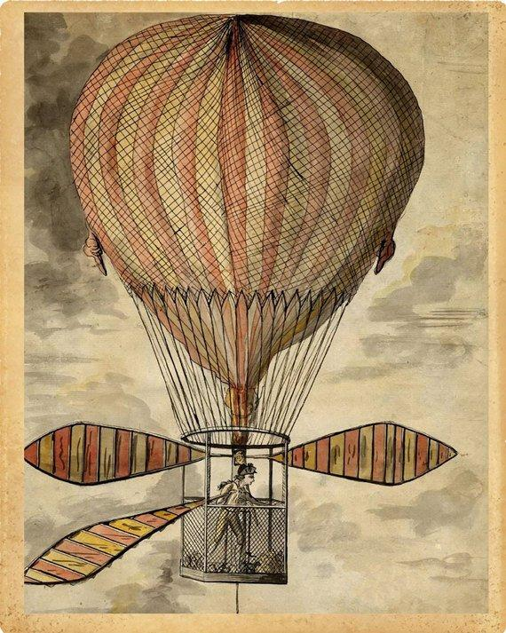 Suggest_STEAMPUNK_HOT AIR BALLOON SHIP