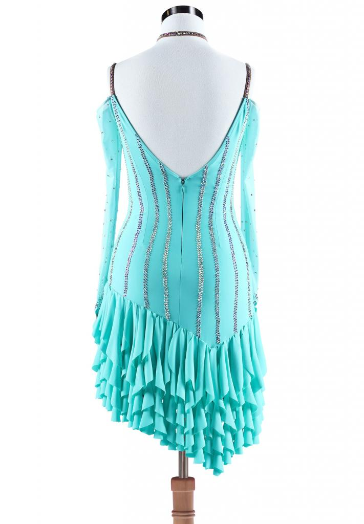 Asymmetric-Ruffle-Fringe-Latin-Rhythm-Dress-L5282-1b
