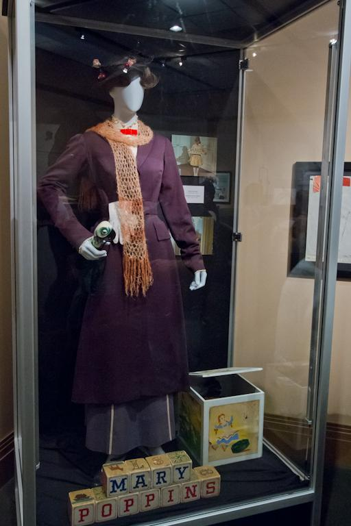 mary poppins museum display