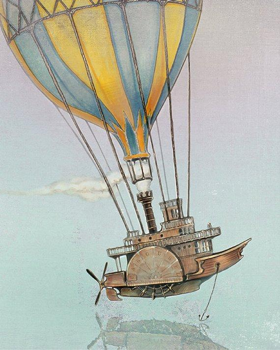 Suggest_STEAMPUNK_HOT AIR BALLOON SHIP2