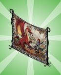 Dragon Castle - Tapestry