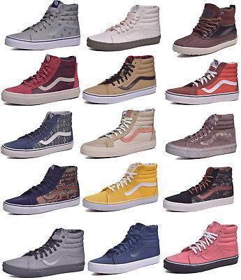 Vans-Sk8-Hi-Classic-Skateboard-Shoes-Men-Women-Choose