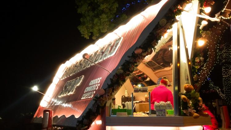 Gingerbread Shop Stand I Saw In Real 2