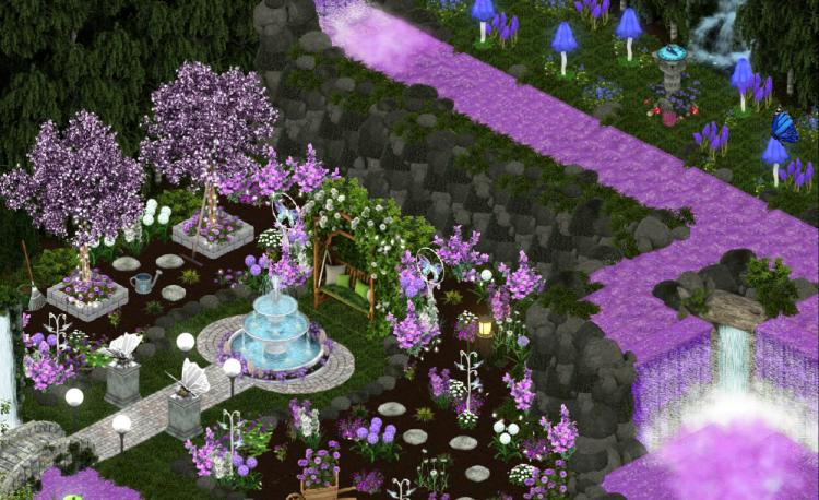 mystical butterfly garden