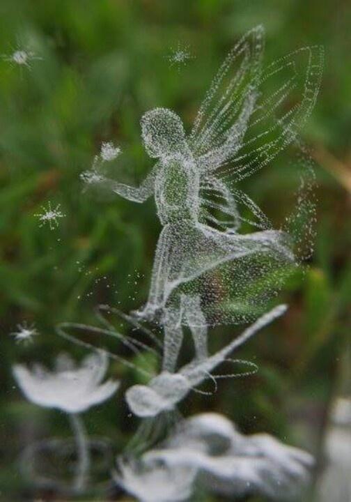 dragonfly fairy crystal clear
