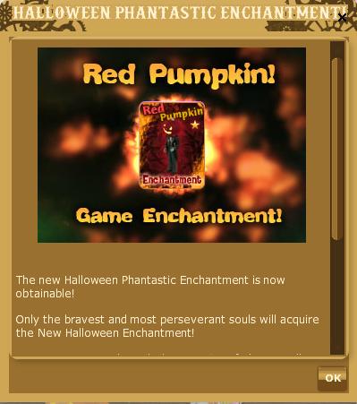 Phantastic Enchantment RED PUMPKIN
