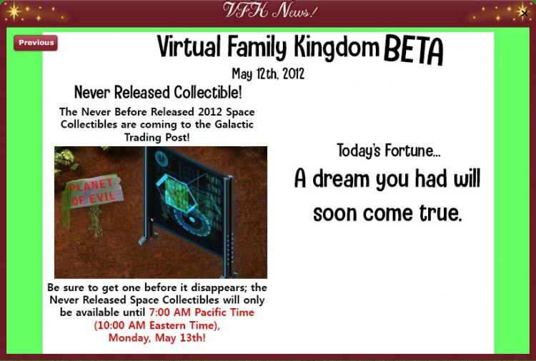 2019 2012 Retro VFK Countdown - NEWSLETTER 2