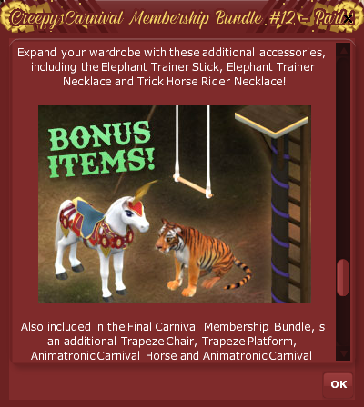 #12 Bundle Part 2 Finale 7- Creepy Carnival