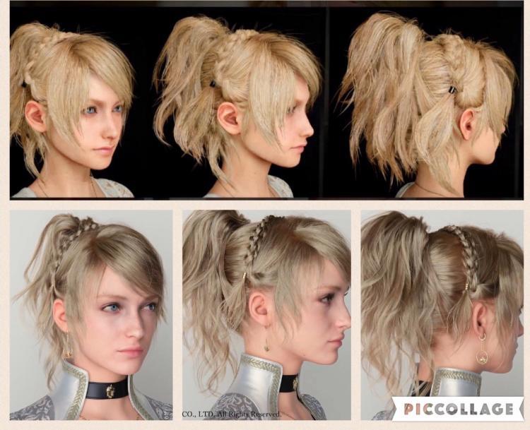 lunafreya's hair