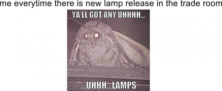 moth for lamps meme 1