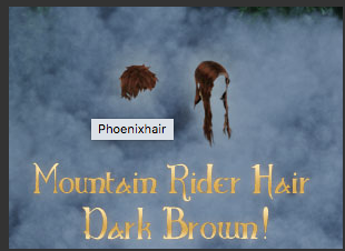 Mountain Rider Hair Brown New Style