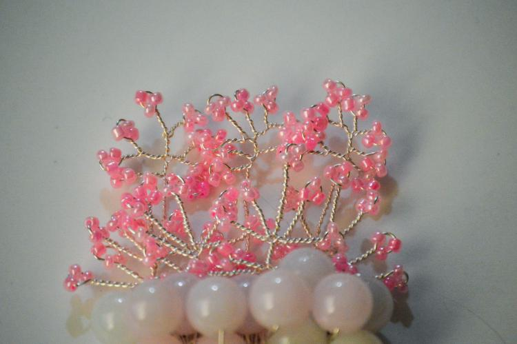 CHERRY BLOSSOM HAIR COMB BY GIFT PRINCESS DESIGN 2