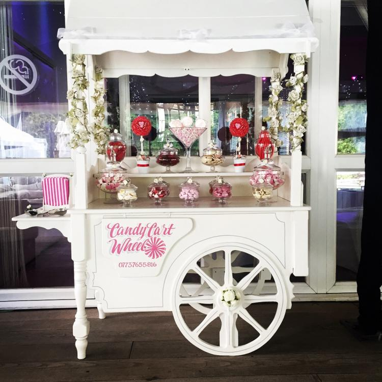 Sweet-Cart-Set-up-for-Engagement-Party