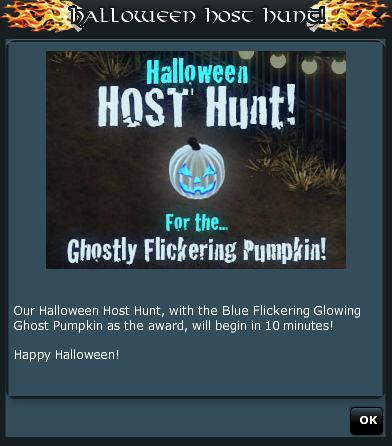Ghostly Flickering Pumpkin