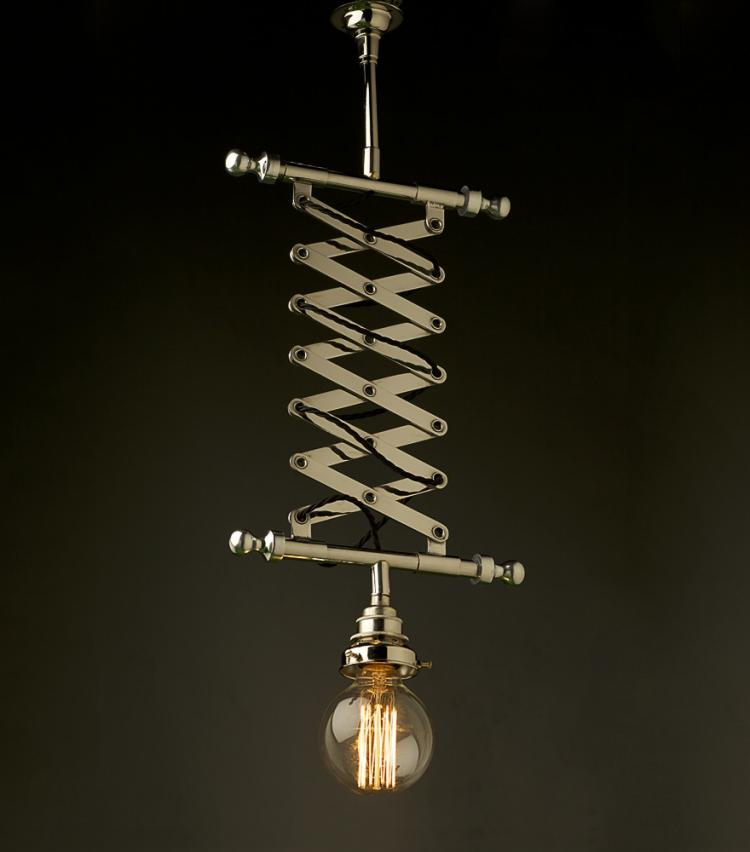 Suggest_STEAMPUNK_Scissor Extended Hanging Light 1