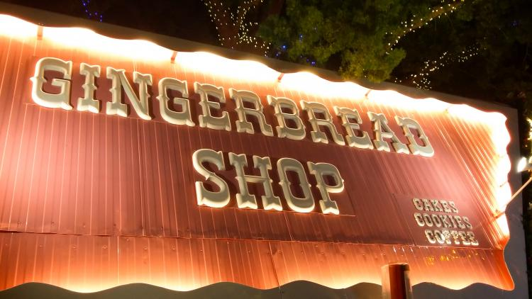 Gingerbread Shop Stand I Saw In Real