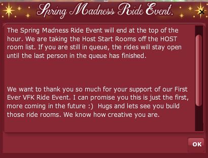 2019 2009 RETRO ANNIVERSARY - Spring Madness Ride Event pop up 1
