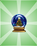 VFK Snow Globe PIN1