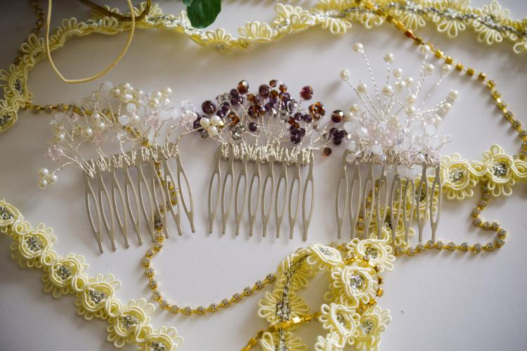 Hair Comb Sprigs by Gift Princess Design